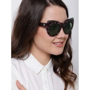 Gucci Havana Animal Print Cat Eye Sunglasses